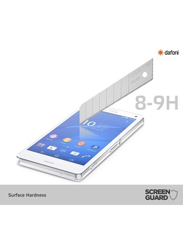 MobilCadde MobilCadde Dafoni Sony Xperia Z3 Temperli Ayna Cam Ekran Koruyucu Renkli